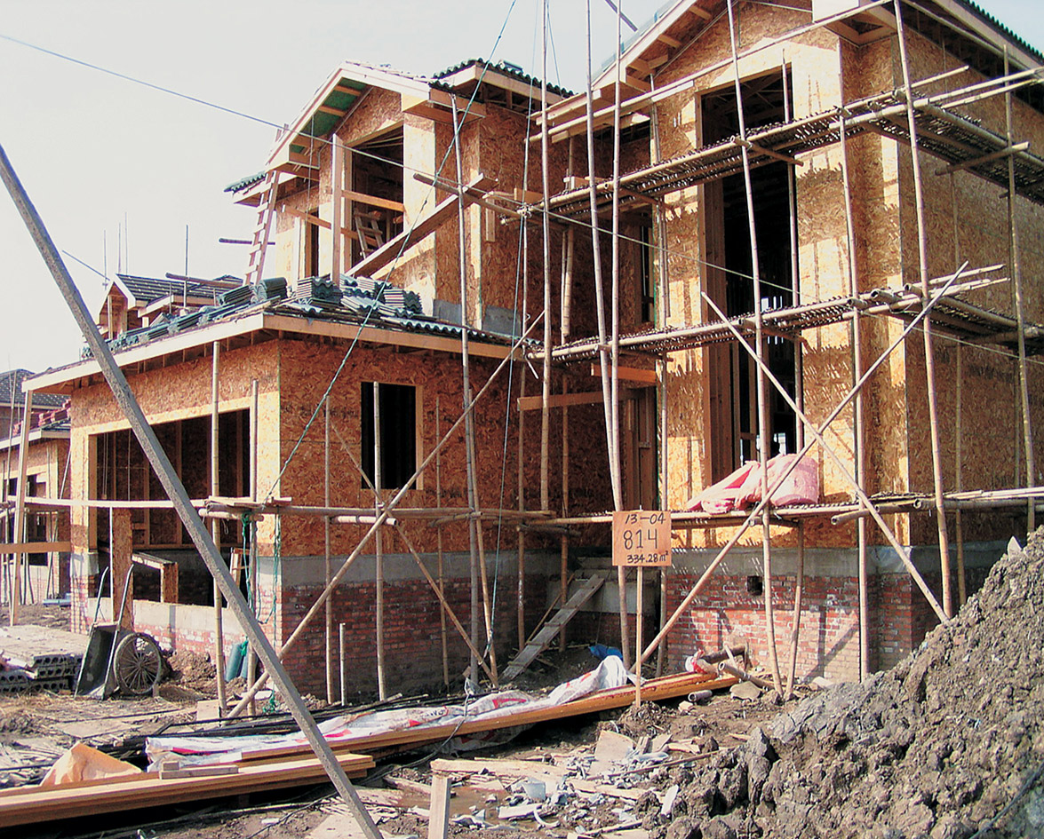 Building Foundations: Wood-Frame Construction in China