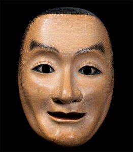 Hirano's unique masks are made using traditional techniques.