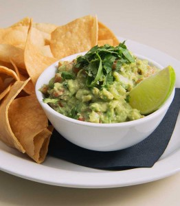 This fresh guacamole has a twist of lime.