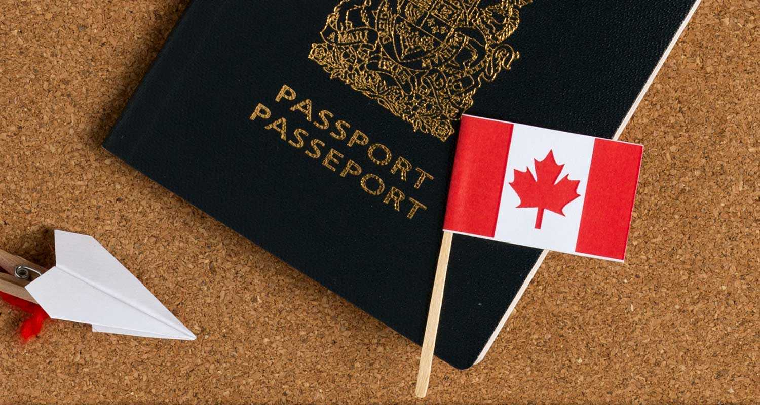 a Canadian passport