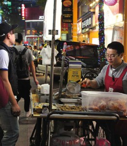 Image of a street food vendor in Taiwan