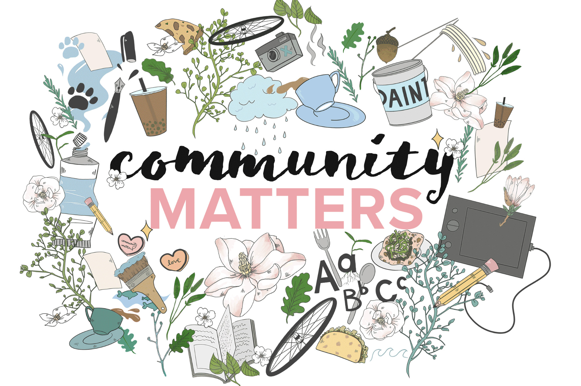 Community Matters cover page illustration