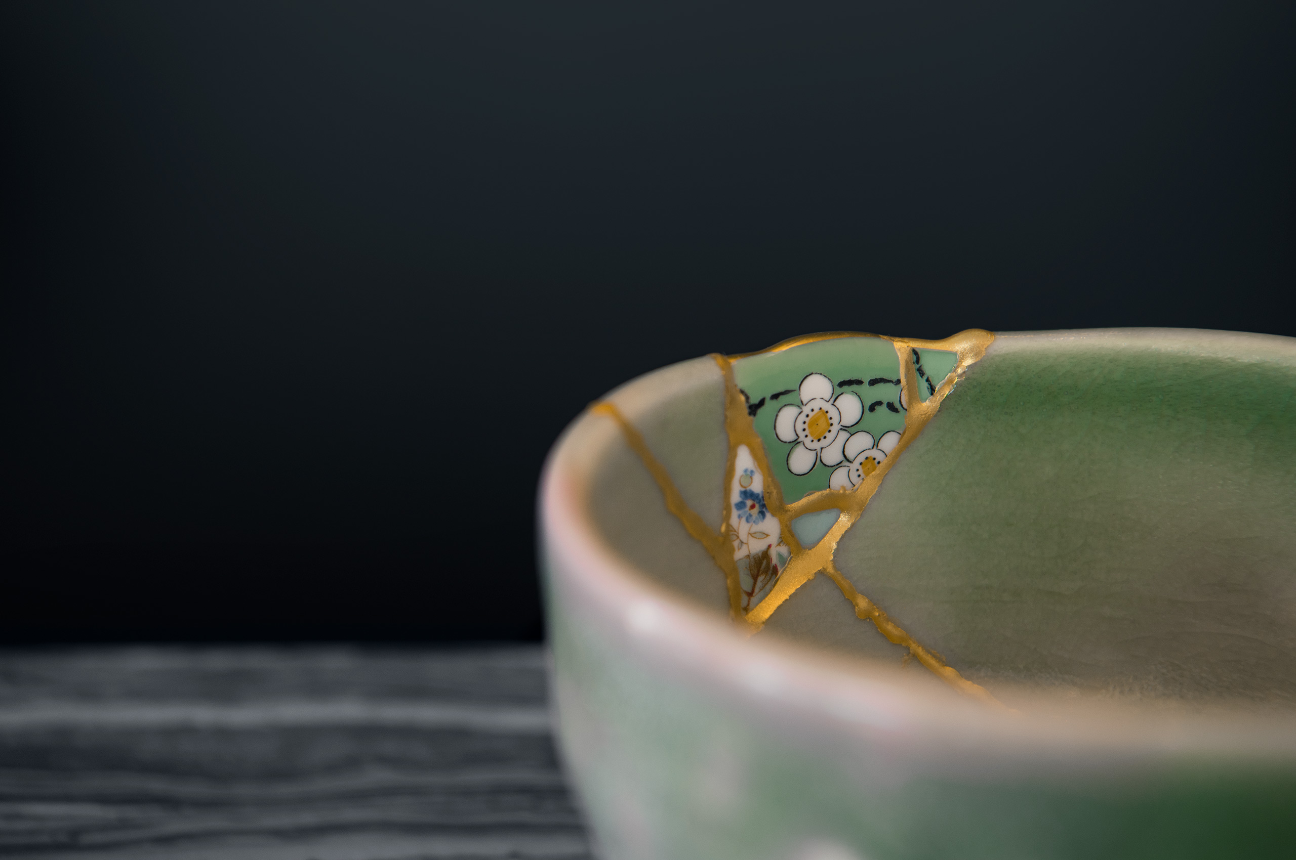 Kintsugi Restored Bowl