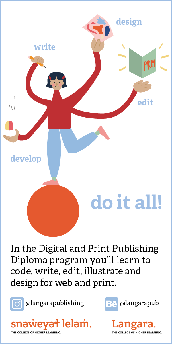 Langara Digital and Print Publishing Program